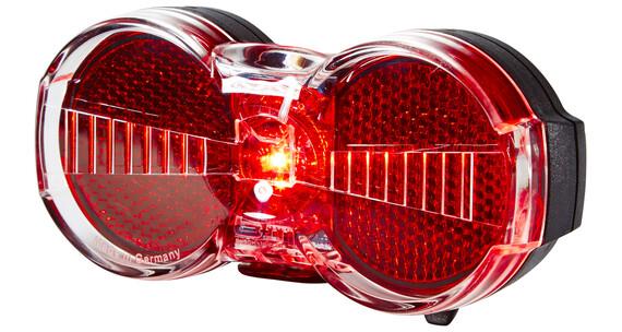 Busch + Müller Toplight Flat S fietsverlichting permanent zwart